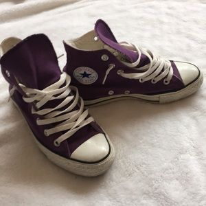 Shoes - Women's size 6 Converse high tops